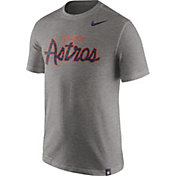 Nike Men's Houston Astros Dri-FIT Script T-Shirt