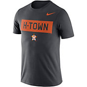 "Nike Men's Houston Astros Dri-FIT ""H-Town"" Grey T-Shirt"