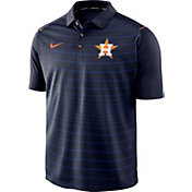 Nike Men's Houston Astros Striped Polo
