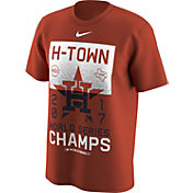 Nike Men's 2017 World Series Champions Houston Astros Orange T-Shirt
