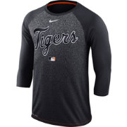 Nike Men's Detroit Tigers Dri-FIT Authentic Collection Legend Three-Quarter Sleeve Shirt