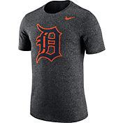 Nike Men's Detroit Tigers Marled Grey T-Shirt
