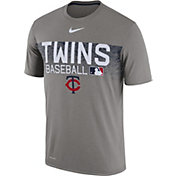 Nike Men's Minnesota Twins Dri-FIT Authentic Collection Legend T-Shirt