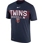 Nike Men's Minnesota Twins Dri-FIT Authentic Collection Legend T-Shirt
