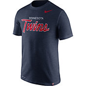 Nike Men's Minnesota Twins Dri-FIT Script T-Shirt