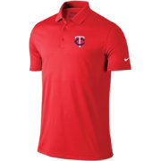 Nike Men's Minnesota Twins Dri-FIT Red Victory Solid Polo