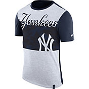 Nike Men's New York Yankees Dri-Blend Sliced T-Shirt