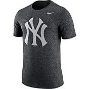 Nike Men's New York Yankees Marled Grey T-Shirt