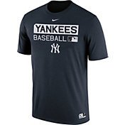 Nike Men's New York Yankees Dri-FIT Authentic Collection Navy Legend T-Shirt