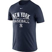 Nike Men's New York Yankees Practice Navy T-Shirt