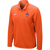 Nike Men's FC Cincinnati Dri-FIT Orange Performance Quarter-Zip Pullover