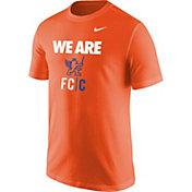 Nike Men's FC Cincinnati We Are Logo Orange T-Shirt