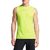 Nike Men's Breathe Trail Sleeveless Running Shirt
