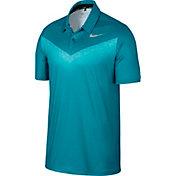 Nike Men's Dry Chevron Print Golf Polo
