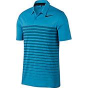 Nike Men's Dry Heather Stripe Golf Polo