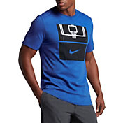 Nike Men's Dry Basketball Hoop Graphic T-Shirt