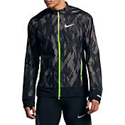 Nike Men's Flex Full Zip Printed Trail Running Jacket