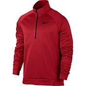 Nike Men's Therma Long Sleeve Quarter Zip Shirt