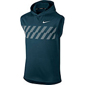 Nike Men's Sleeveless Graphic Running Hoodie