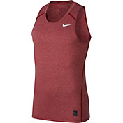 Nike Men's Pro Heather Printed Sleeveless Fitted Shirt