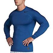 Nike Men's Pro HyperWarm Long Sleeve Fitted Shirt