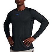 Nike Men's Pro Colorbust Long Sleeve Fitted Shirt