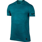 Nike Men's Pro Printed Fitted T-Shirt