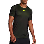 Nike Men's Pro Colorburst Fitted T-Shirt