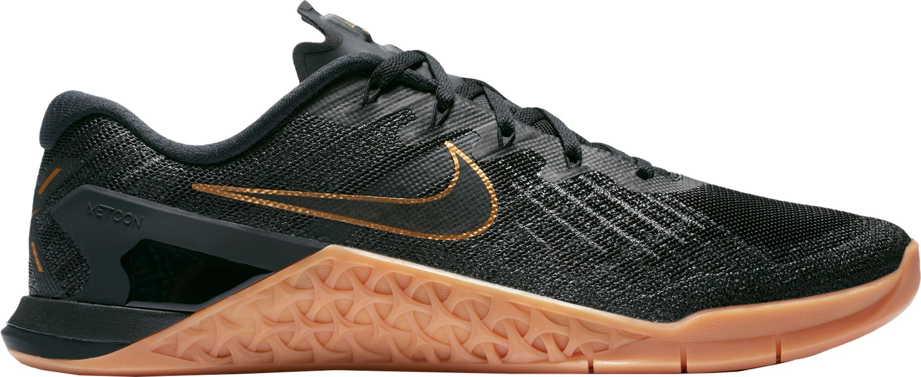 nike metcon 3 black and gold