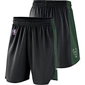Nike Men's Milwaukee Bucks Dri-FIT Black Practice Shorts