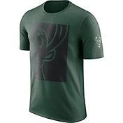 Nike Men's Milwaukee Bucks Dri-FIT Green T-Shirt