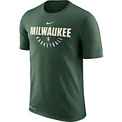 Nike Men's Milwaukee Bucks Dri-FIT Green Practice T-Shirt