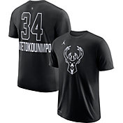 Jordan Men's 2018 NBA All-Star Game Giannis Antetokounmpo Dri-FIT Black T-Shirt