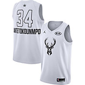 Jordan Men's 2018 NBA All-Star Game Giannis Antetokounmpo White Dri-FIT Swingman Jersey