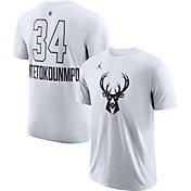 Jordan Men's 2018 NBA All-Star Game Giannis Antetokounmpo Dri-FIT White T-Shirt