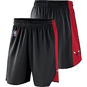 Nike Men's Chicago Bulls Dri-FIT Black Practice Shorts