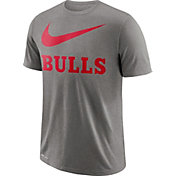 Nike Men's Chicago Bulls Dri-FIT Legend Grey T-Shirt