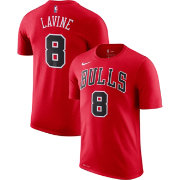 Nike Men's Chicago Bulls Zack Lavine #8 Dri-FIT Red T-Shirt
