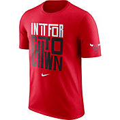 """Nike Men's Chicago Bulls Dri-FIT """"In It For Chi-Town"""" Red T-Shirt"""