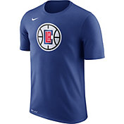 Nike Men's Los Angeles Clippers Dri-FIT Royal Logo T-Shirt