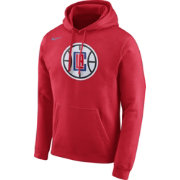 Nike Men's Los Angeles Clippers Club Red Pullover Hoodie