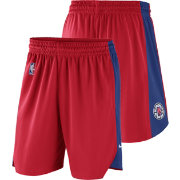 Nike Men's Los Angeles Clippers Dri-FIT Red Practice Shorts