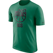 Nike Men's Boston Celtics Dri-FIT Kelly Green Cityscape T-Shirt