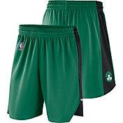 Nike Men's Boston Celtics Dri-FIT Kelly Green Practice Shorts
