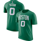 Nike Men's Boston Celtics Jayson Tatum #0 Dri-FIT Kelly Green T-Shirt