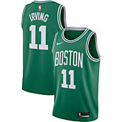 Nike Men's Boston Celtics Kyrie Irving #11 Kelly Green Dri-FIT Swingman Jersey