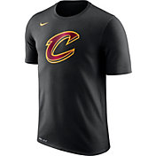 Nike Men's Cleveland Cavaliers Dri-FIT Black Logo T-Shirt