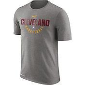 Nike Men's Cleveland Cavaliers Dri-FIT Grey Practice T-Shirt