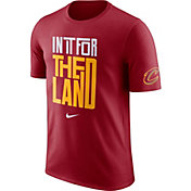 """Nike Men's Cleveland Cavaliers Dri-FIT """"In It For The Land"""" Red T-Shirt"""
