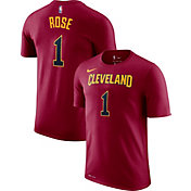 Nike Men's Cleveland Cavaliers Derrick Rose #1 Dri-FIT Burgundy T-Shirt